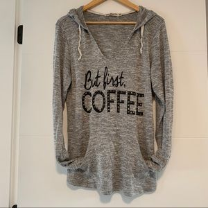 Chance or Fate | Coffee Quote Hoodie